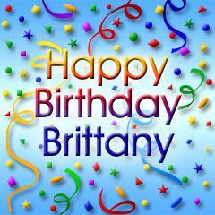 Happy B-day, Brittany!!