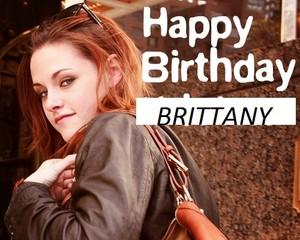 Happy Birthday Brittany (love Cheri)