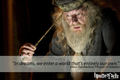 Harry Potter Zitate - Albus Dumbledore