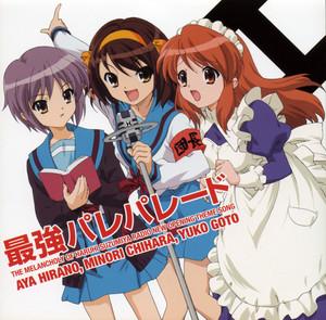 Haruhi, Yuki and Mikuru