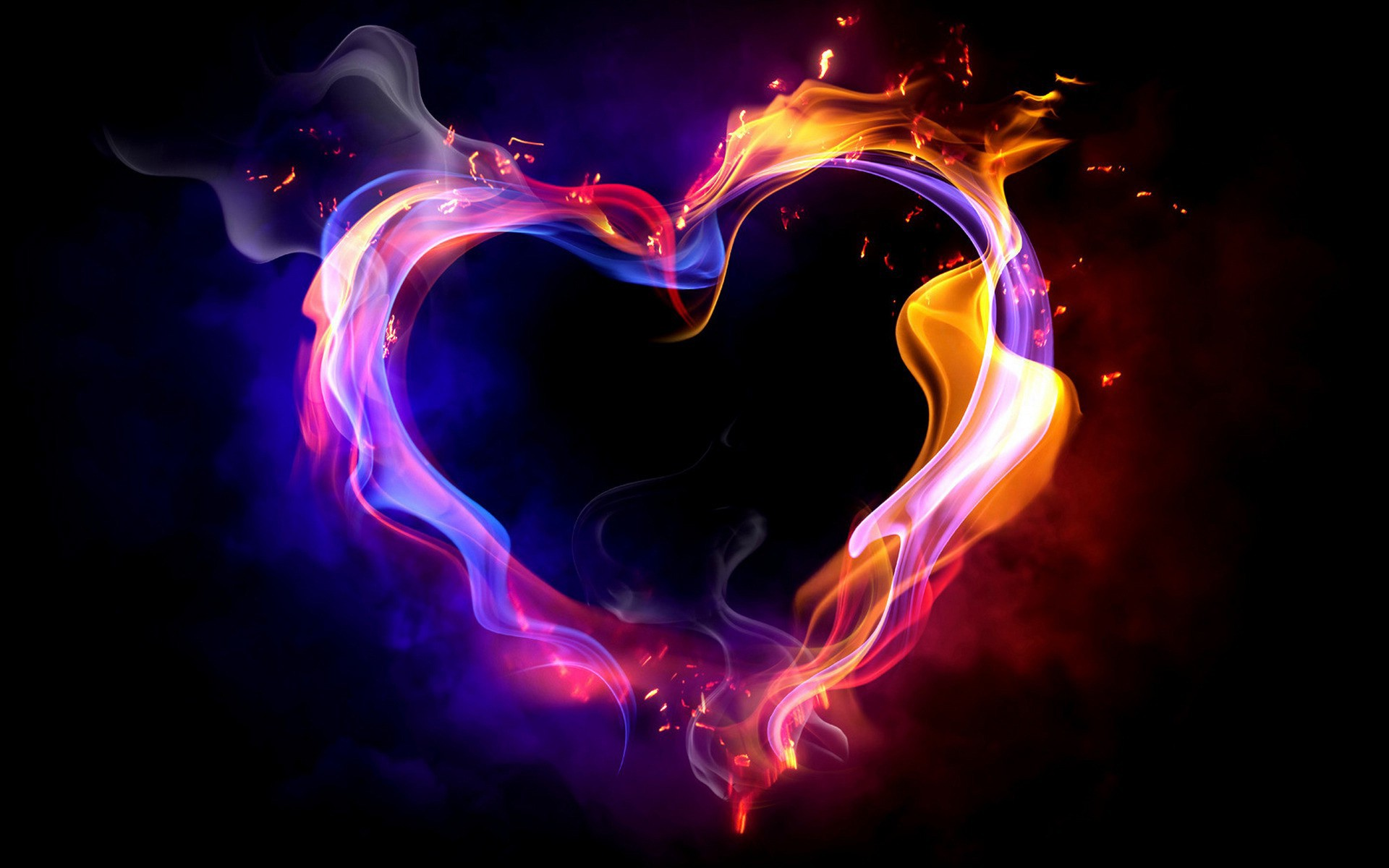 IM RANDOM Images Heart On Fire HD Wallpaper And Background Photos