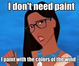 Hipster Pocahontas :D