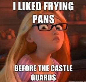 Hipster Rapunzel :P
