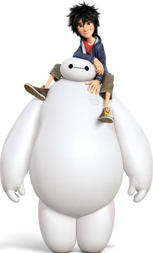 Hiro and Baymax (Hi-Res)