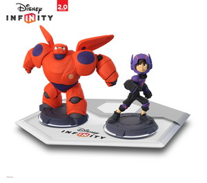 Hiro and Baymax in disney Infinity 2.0