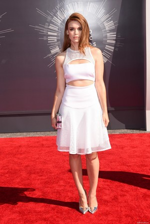 Holland attends 2014 MTV Video Музыка Awards