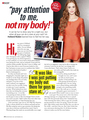 Holland in Seventeen Magazine (September 2014)
