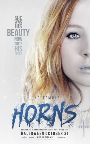 Horns Film New Poster (Fb.com/DanielJacobRadcliffeFanClub)