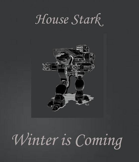 House Stark Direwolf