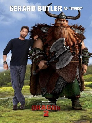 How To Train Your Dragon 2 Cast Posters