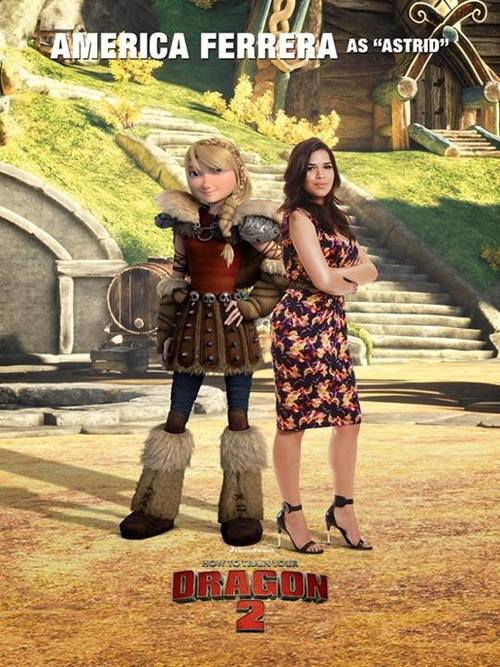 How To Train Your Dragon 2 Cast Posters How To Train Your Dragon Photo 37449181 Fanpop