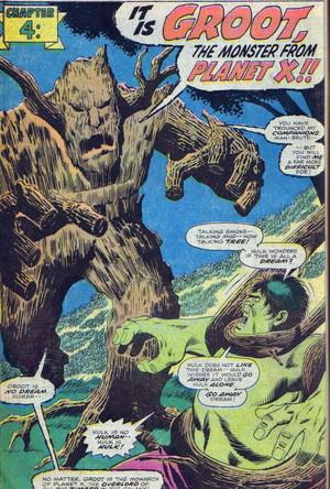 Hulk vs. groot