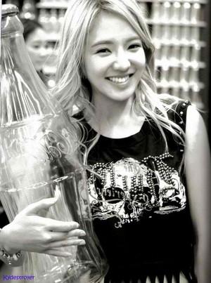 Hyoyeon in Las Vegas Photobook