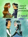 I Need You! - total-drama-island fan art