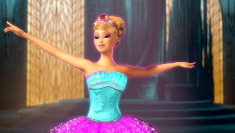 Kristyn farraday in her pink ballet tutu