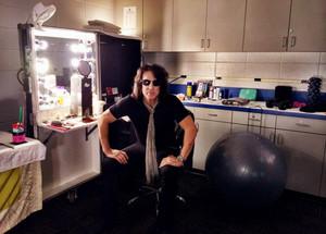 In my dressing room @TargetCenterMN . Minneapolis... Tonight We ROCK!
