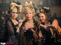 Into the Woods (Movie) - Cinderella's Stepfamily (Lucy Punch, Christine Baranski, Tammy Blanchard) - into-the-woods photo