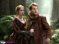 Into the Woods (Movie) - The Baker's Wife (Emily Blunt) and the Baker (James Corden - into-the-woods photo