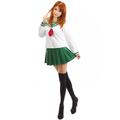 InuYasha Higurashi Kagome Winter School Uniform Cosplay Costume - inuyasha photo