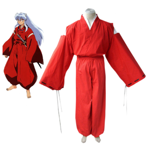 InuYasha Red কিমোনো Cosplay Costume