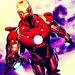 Iron Man   - tony-stark icon