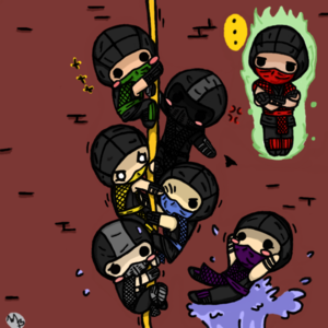 Its the mk ninjas