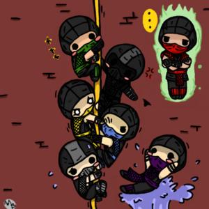 Its the mk ninjas