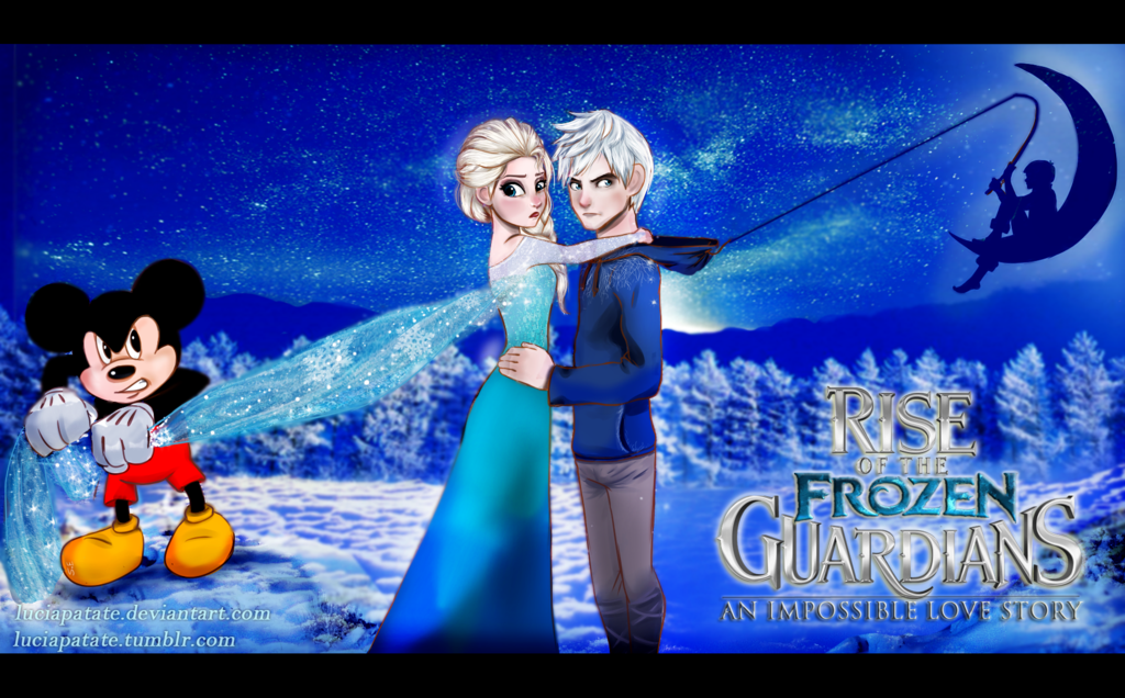 Elsa Jack Frost Images Jack Frost And Queen Elsa Hd Wallpaper And Background Photos