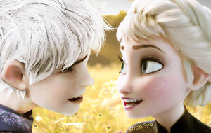 Jack Frost and 퀸 Elsa
