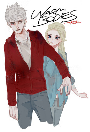 Jack Frost and クイーン Elsa