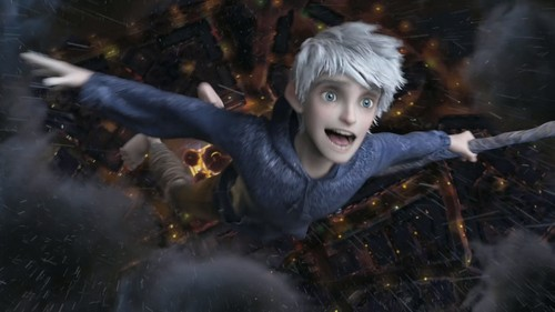 Childhood Animated Movie Heroes wallpaper probably containing a fire called Jack Frost