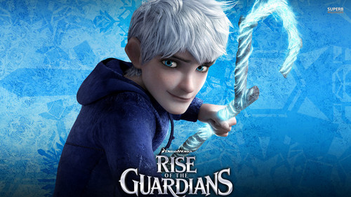 Rise of the Guardians wallpaper probably with a hood called Jack Frost