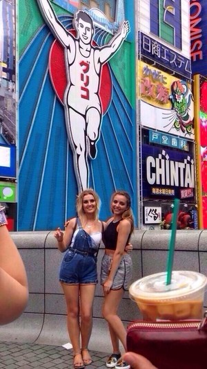 Jade and Perrie in Osaka Today