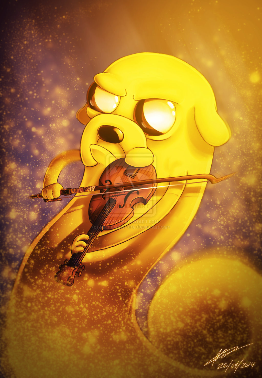 Jake The Dog Adventure Time With Finn And Jake Fan Art