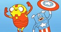 Jake and Finn Avengers