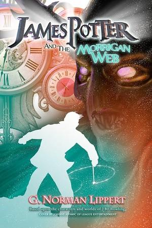 James Potter and the Morrigan Web: Original Book Cover