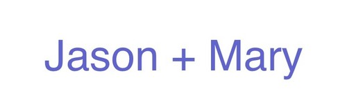Mason Forever! achtergrond called Jason Mary