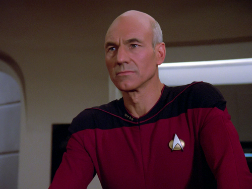 Star Trek-The Next Generation wallpaper entitled Jean-Luc Picard