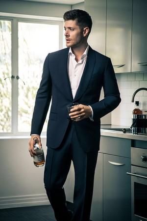 Jensen Ackles ❤ Harper's Bazaar China