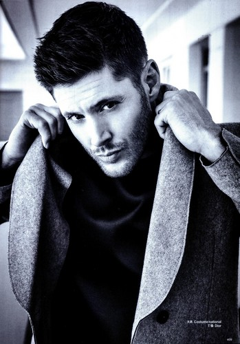 Jensen Ackles Hintergrund called Jensen - Harper's Bazaar September 2014 Issue