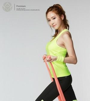 Jessica for Li Ning