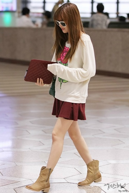 Jessica 39 S Airport Fashion Jessica Snsd Photo 37411199 Fanpop