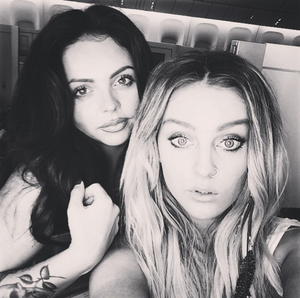 Jesy 's new Instagram post with Perrie ♥