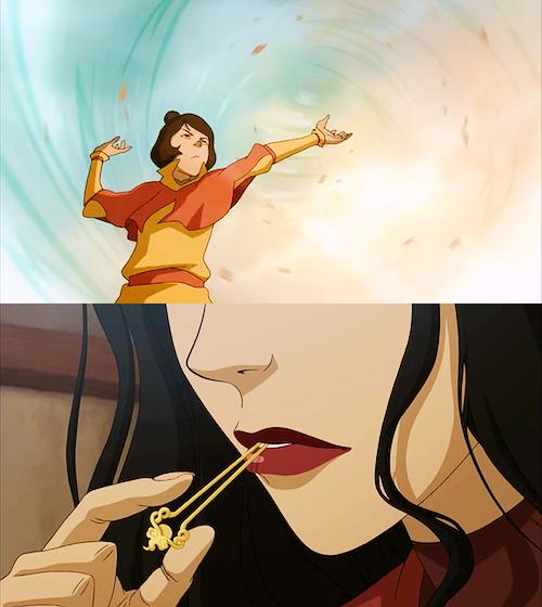 Jinora and Asami