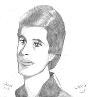 Joey drawing