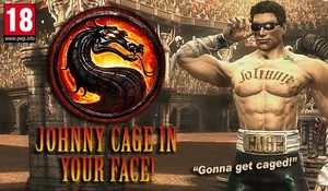 Johnny Cage: Celebrity and martial artist