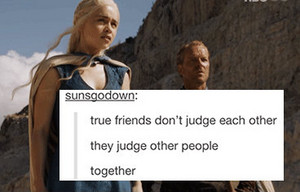 Jorah and Dany - Text Posts