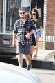 Josh Hutcherson and Claudia Traisac on Abbot Kinney in Venice Beach