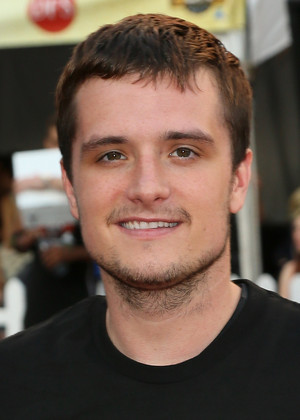 Josh Hutcherson plays during the 3rd Annual Josh Hutcherson Celebrity Basketball Game at Nokia Plaza