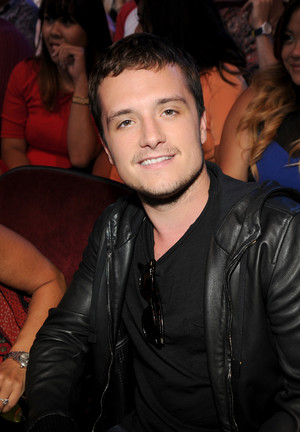 Josh Hutcherson, winner of Best Actor: Sci-Fi/Fantasy onstage during FOX's 2014 Teen Choice Awards